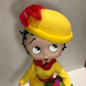 Betty Boop Other - Betty Boop Shopping Spree Collector Porcelain Doll